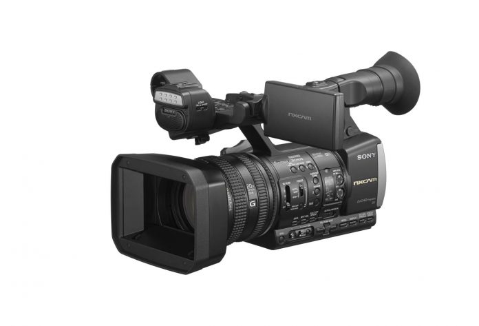 a WiFi enabled, handheld, professional HD camcorder