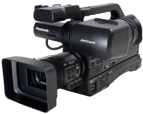 panasonic ag hmc80p avccam hd shoulder mount camcorder. Black Bedroom Furniture Sets. Home Design Ideas