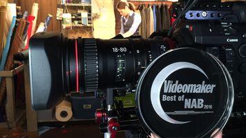 Canon Compact Servo 18-80mm T4.4 Lens