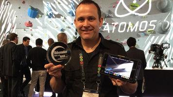 Atomos accepts Best of NAB Award