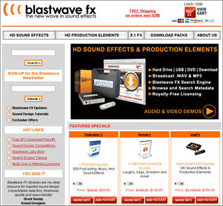 Blastwave FX Launches New Website