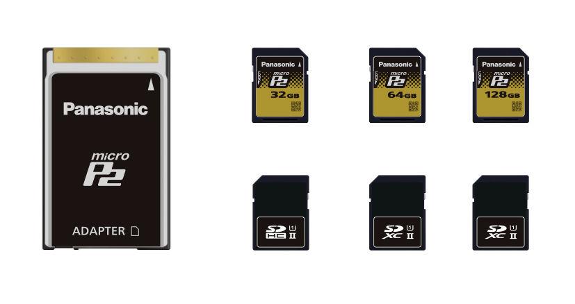 NAB 2012: SD-size microP2, Upgrades, a 4K Camera - Panasonic