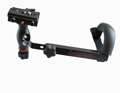 camera plate with handle and arm attachment