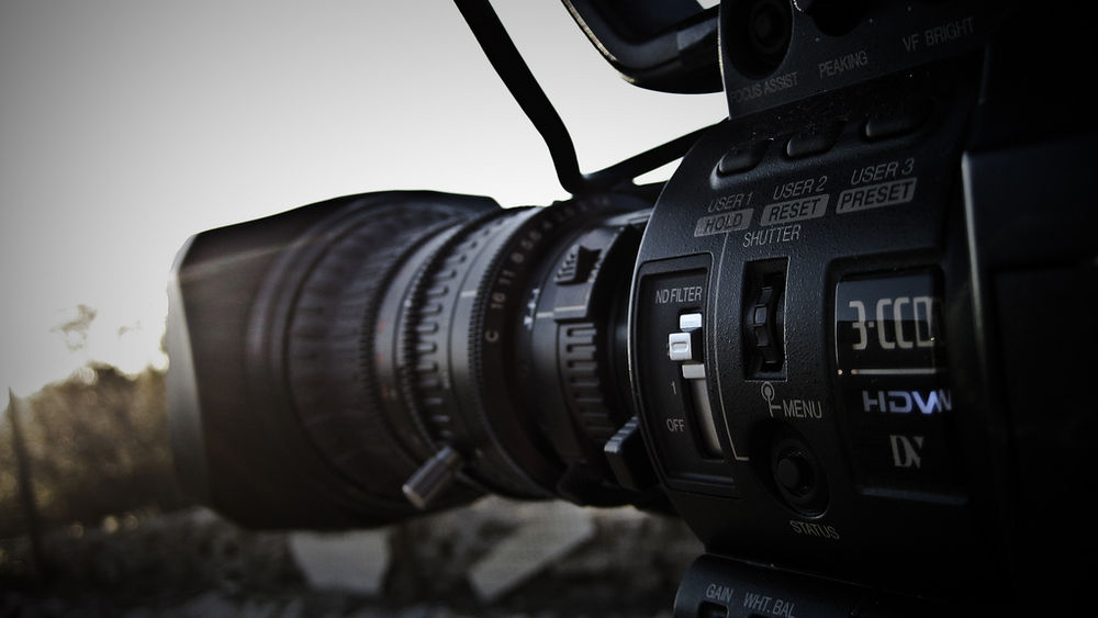 3CCD Professional Camcorder