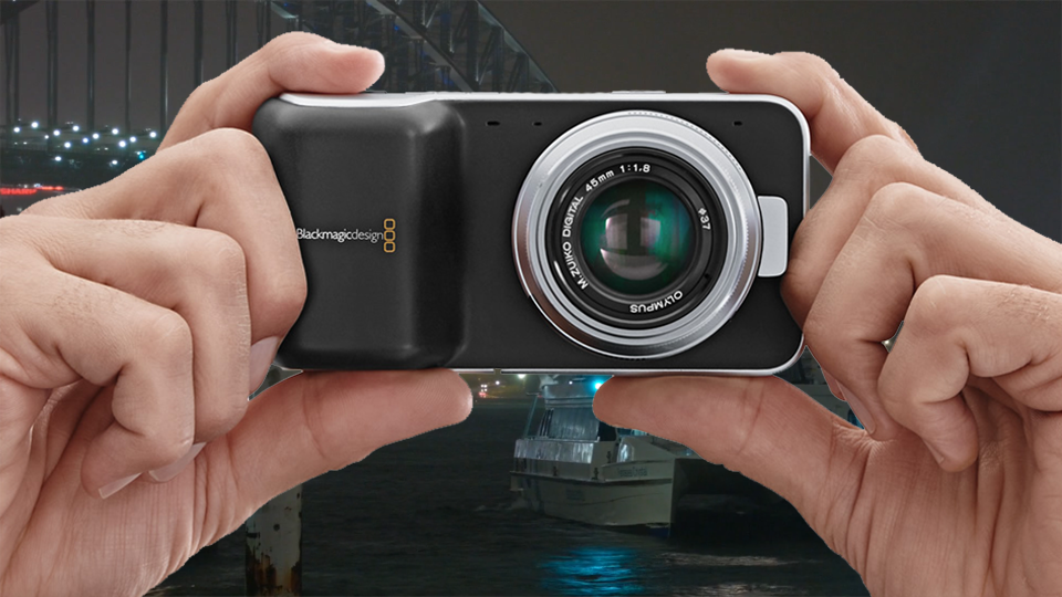 Blackmagic Pocket Cinema Camera Hand Held