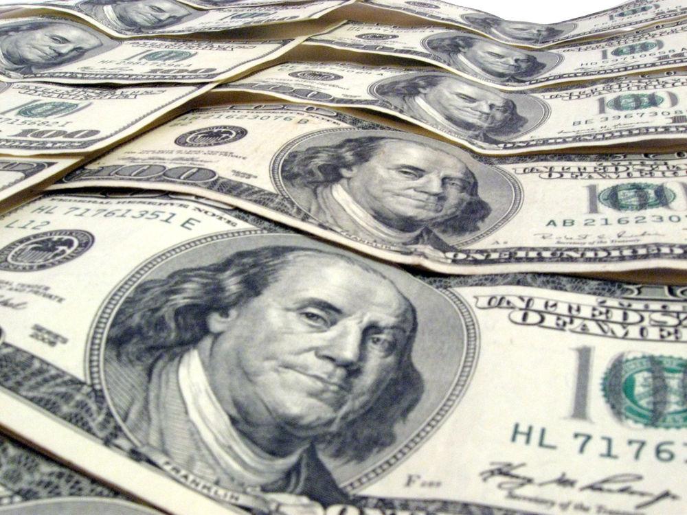 collection of 100 dollar bills
