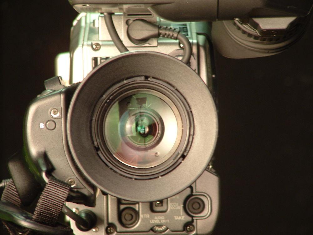 close up of a camera on a tripod
