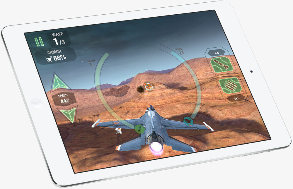 Apple's new iPad Air features a faster processor and a powerful retina display