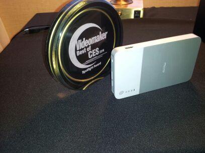 wireless portable hard drive and award