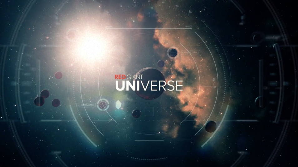 Red Giant announces the full release of Red Giant Universe