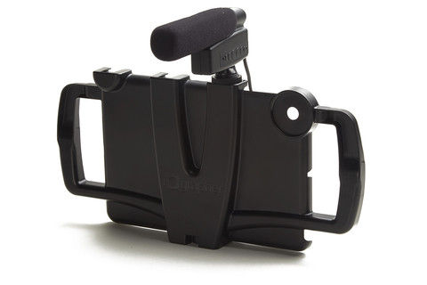 iOgrapher for iPad with optional shotgun microphone