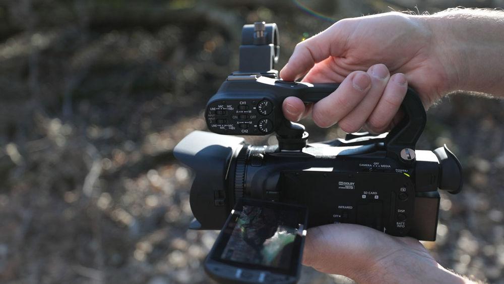 Canon's XA35 Professional Camcorder