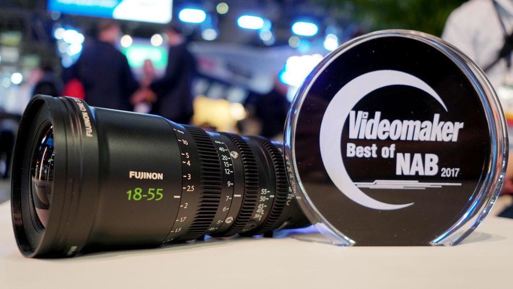 FUJINON MK18-55mm T2.9 with Award