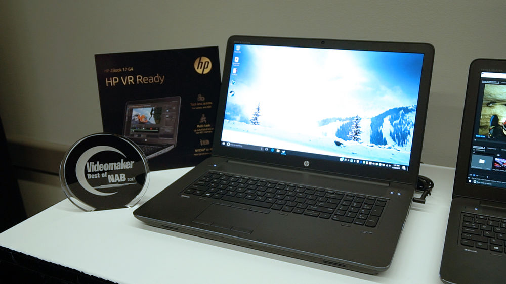 HP ZBook 17 G4 with Award