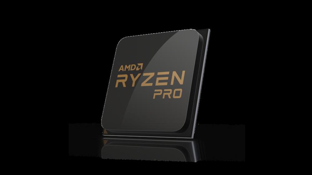 Rendering of the AMD Ryzen Pro Processor