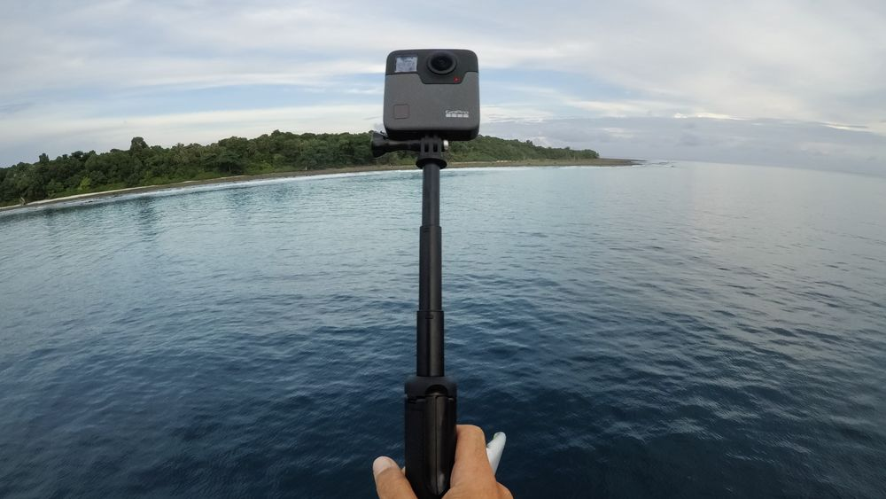 GoPro Fusion in Use