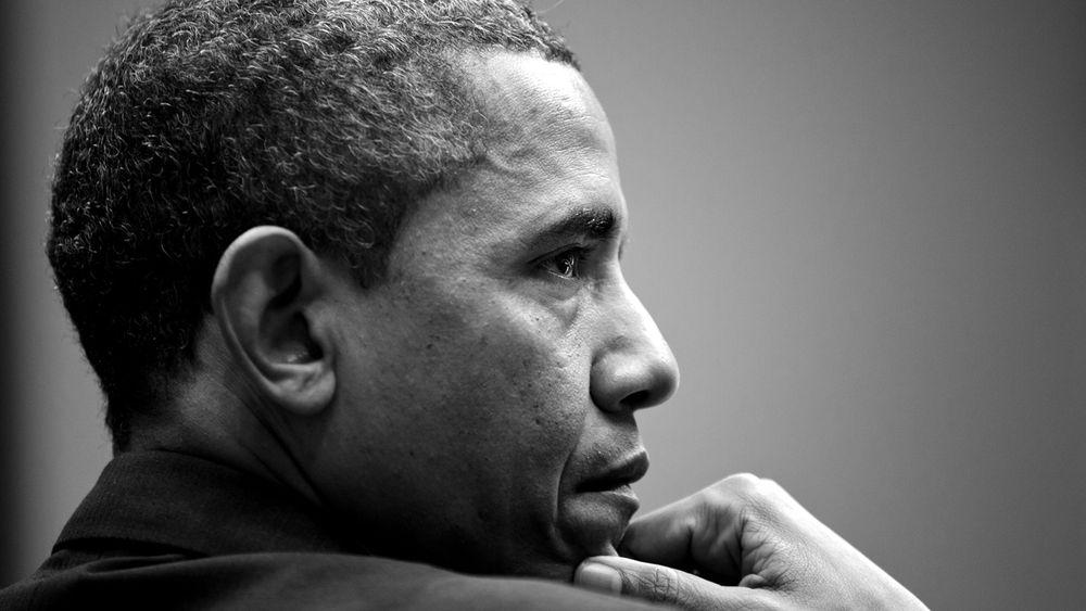 Image taken of President Obama by Pete Souza