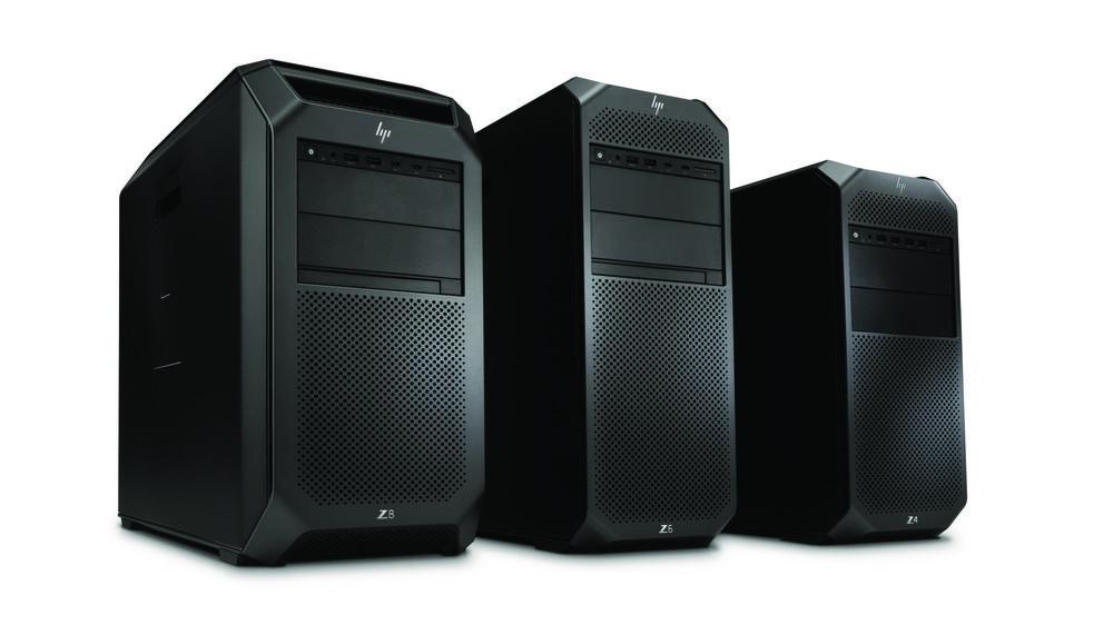Image off HP's Z8, Z6 and Z4