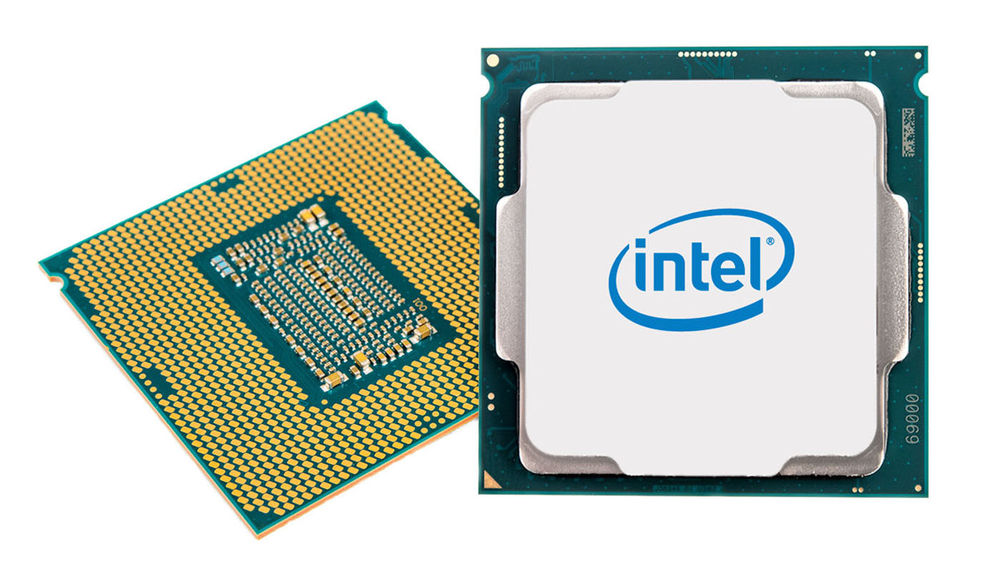 Image of Intel's eighth-gen chips
