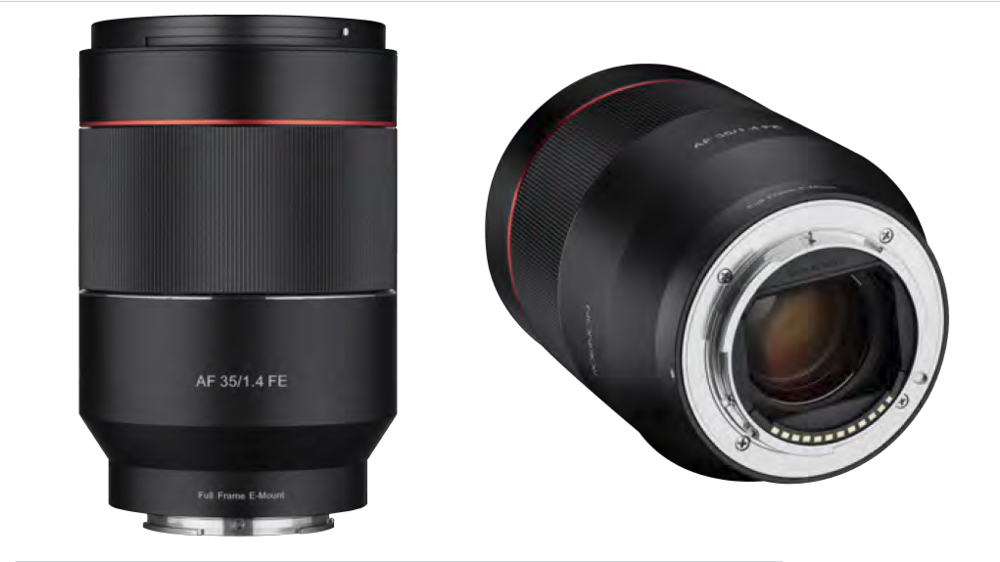 ROKINON's 35mm F1.4 AF Full Frame Wide Angle