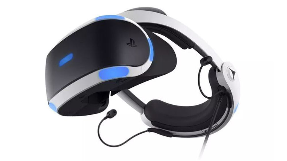 Image of Sony's VR headset