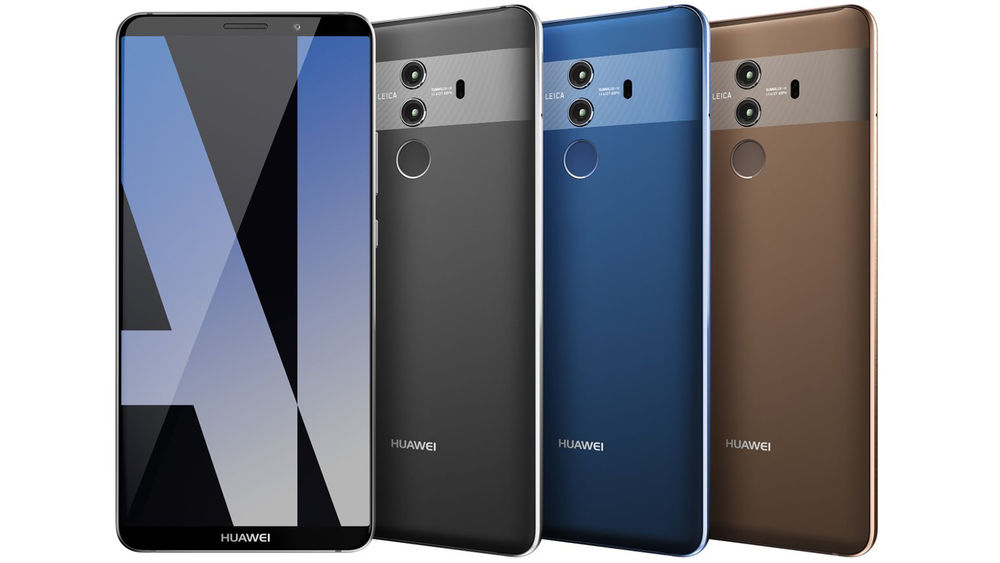 Image of Huawei's upcoming Mate 10 Pro