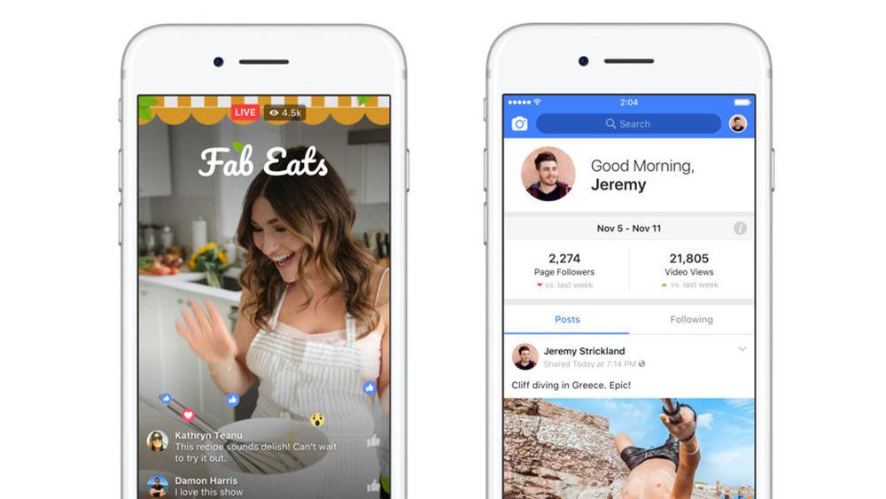 Facebook Creator app features