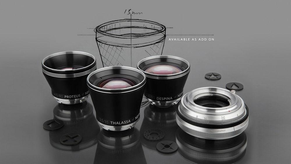 Lomography's Convertible Art Lens System