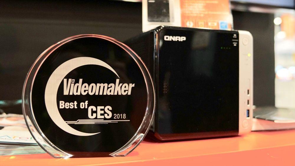 QNAP's TS-453BT3 with Award