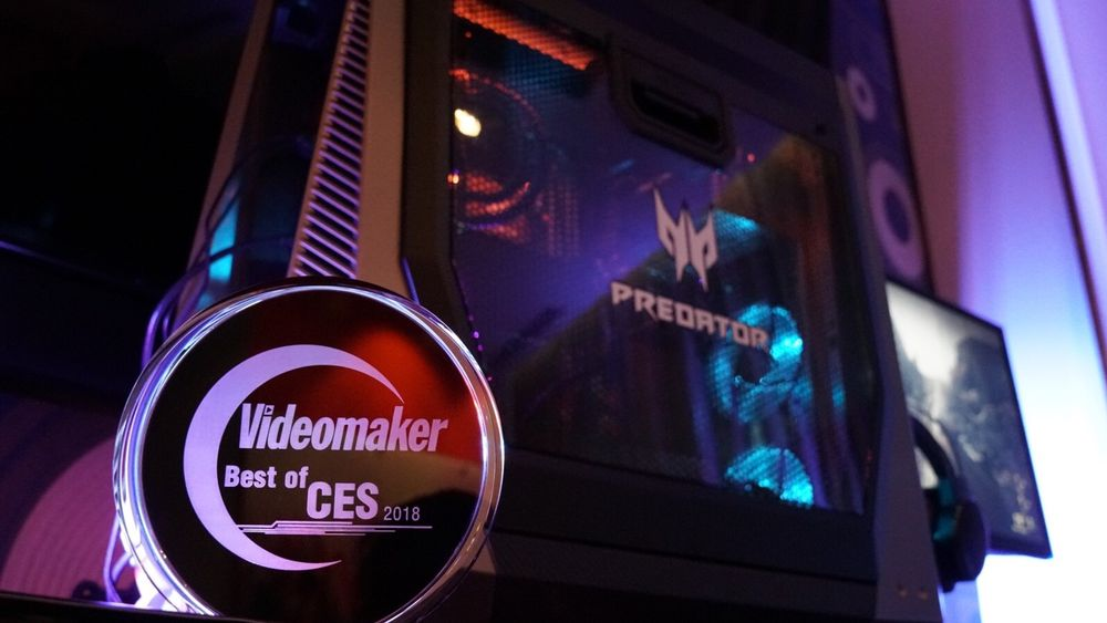 Acer Predator Orion 9000 with Award