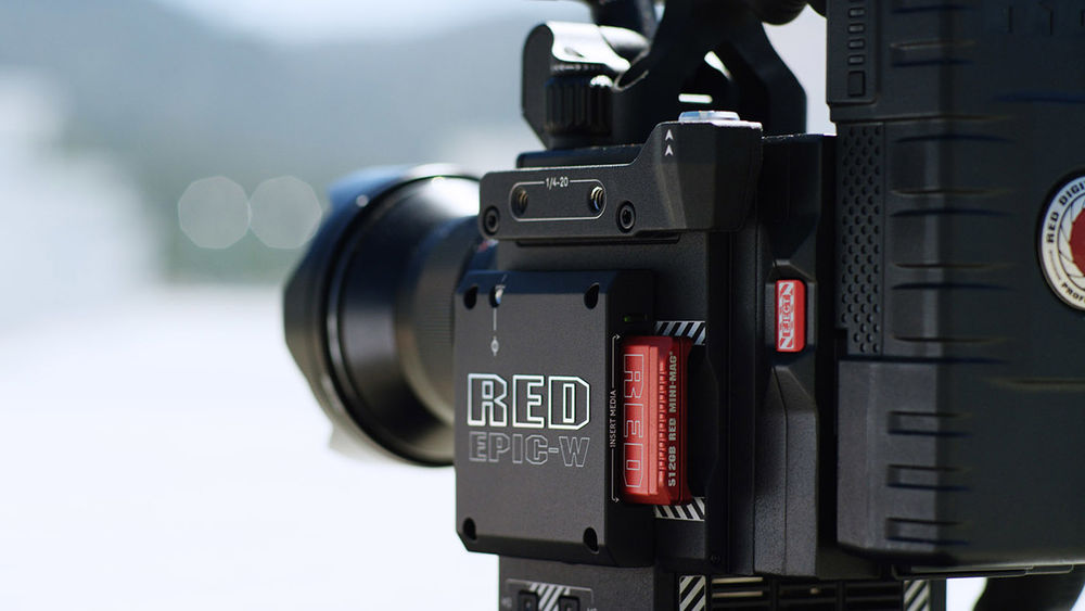 RED Epic-W camera