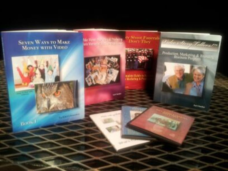 Books by Videomaker contributing editor, Earl Chessher
