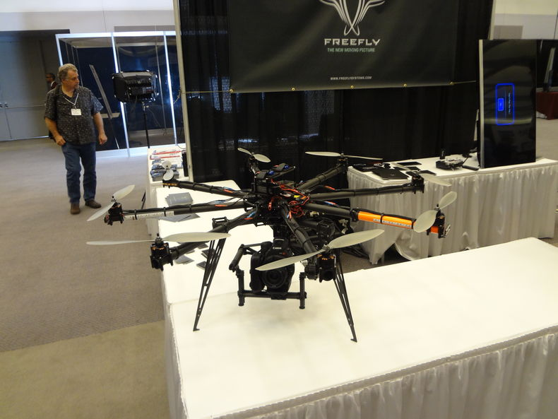 Freefly remote flying helicopter with camera