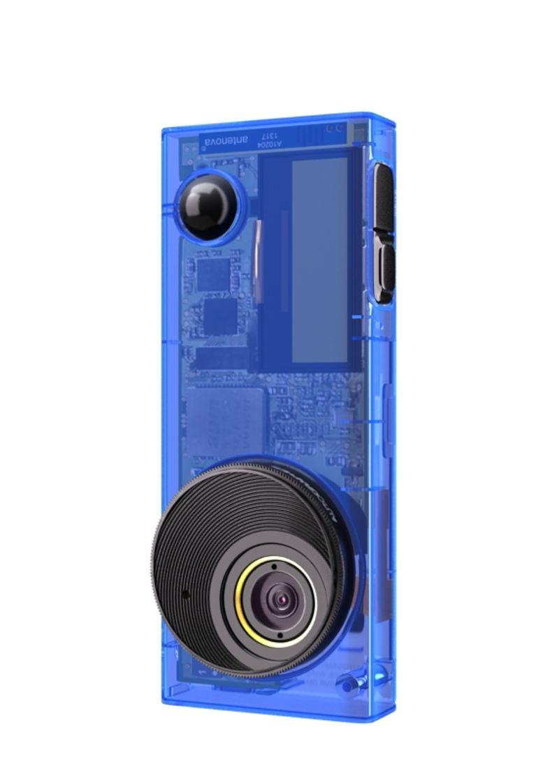 Autographer wearable action cam -  Aquamarine blue