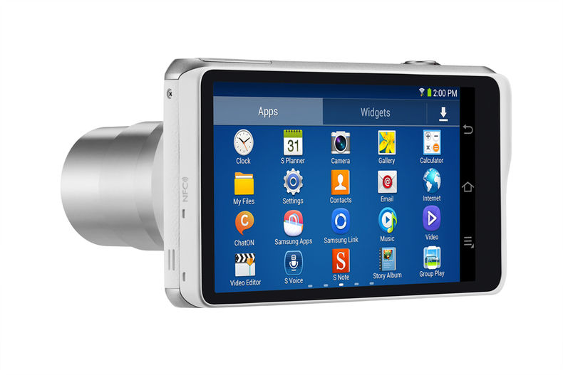 compact camera with apps