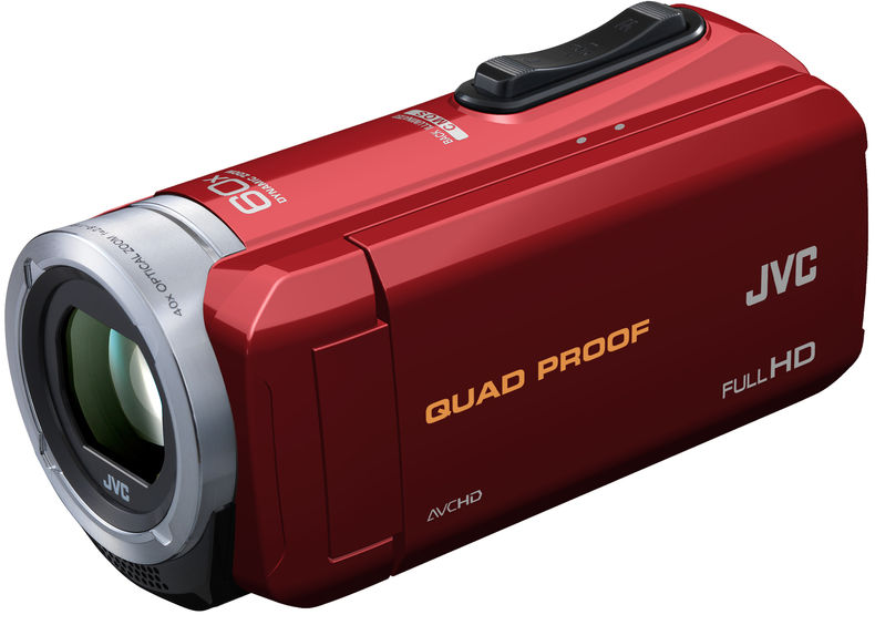 compact and durable red camera