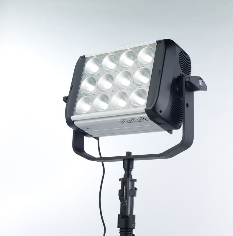 Light panel with 12 LED fixtures