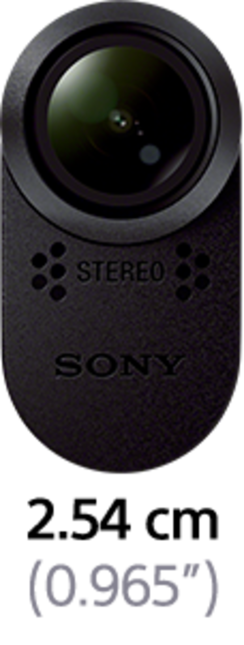 Sony Action Cam HDR-AS20 - Front View
