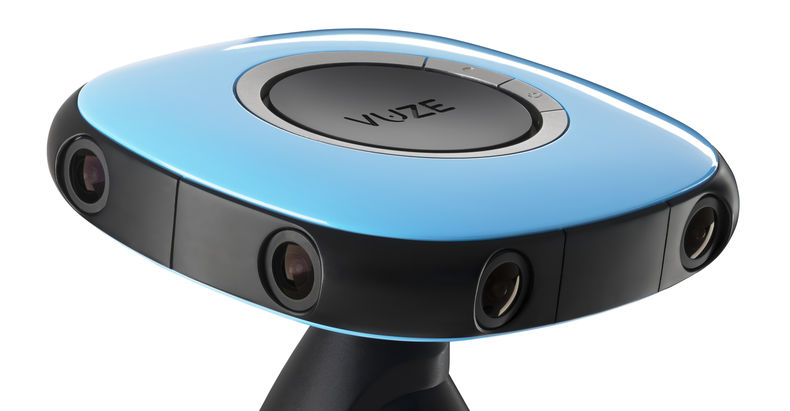 Vuze Camera in Blue