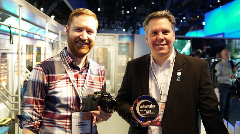 Panasonic accepts Best Camera award