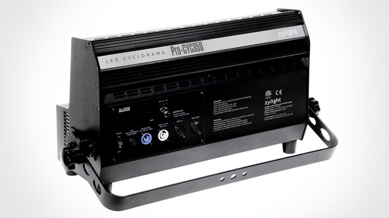 Back image of the Pro-Cyc Color 350-Watt Cyclorama Light