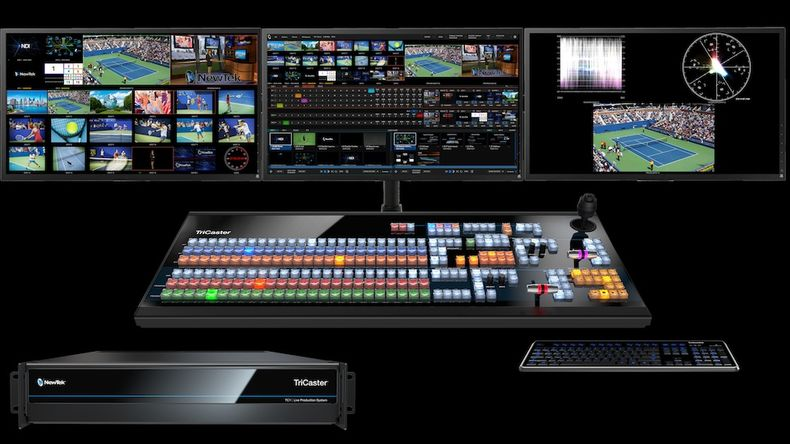 Picture of the content of the TriCaster TC1