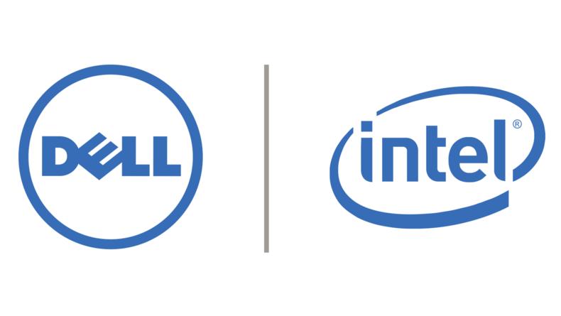 Dell Intel logos