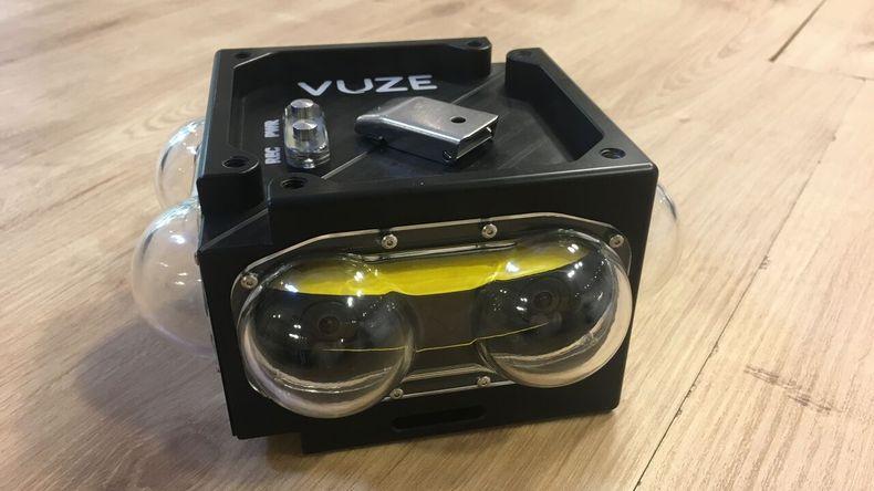 Vuze 360's new underwater case