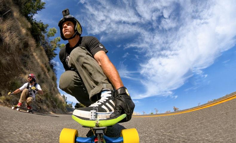 GoPro Fusion on Helmet Mount