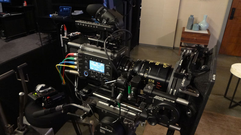 CineAlta VENICE with rig