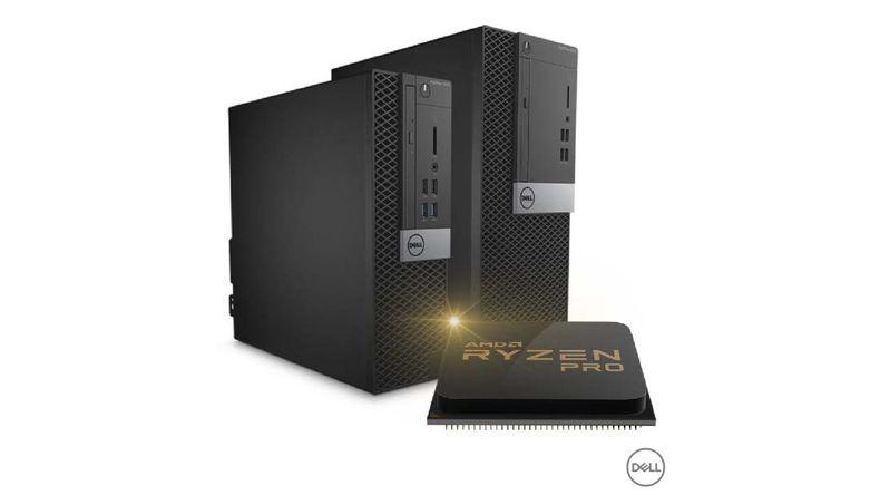 Dell Optiplex with Ryzen processor