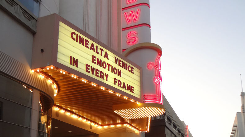 Marquee at the Loews Theater