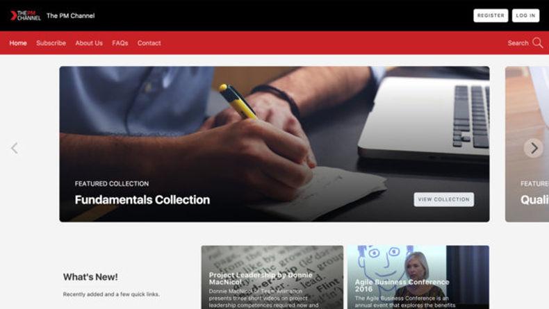 A Vismy's homepage
