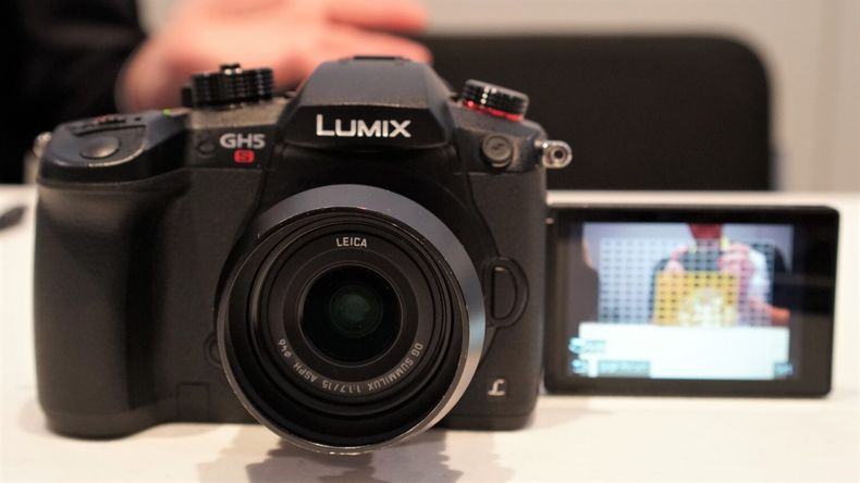 GH5S with flip-out screen